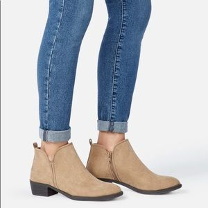 Nwt Justfab Bootie Size 8